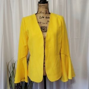 Philosophy open front bell sleeve jacket NWT